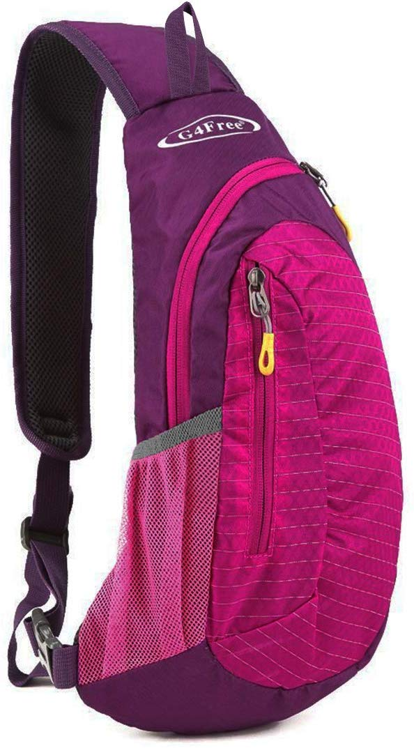 G4Free Sling Bag, Shoulder Backpack, and Small Cross-body Chest Sling Backpack