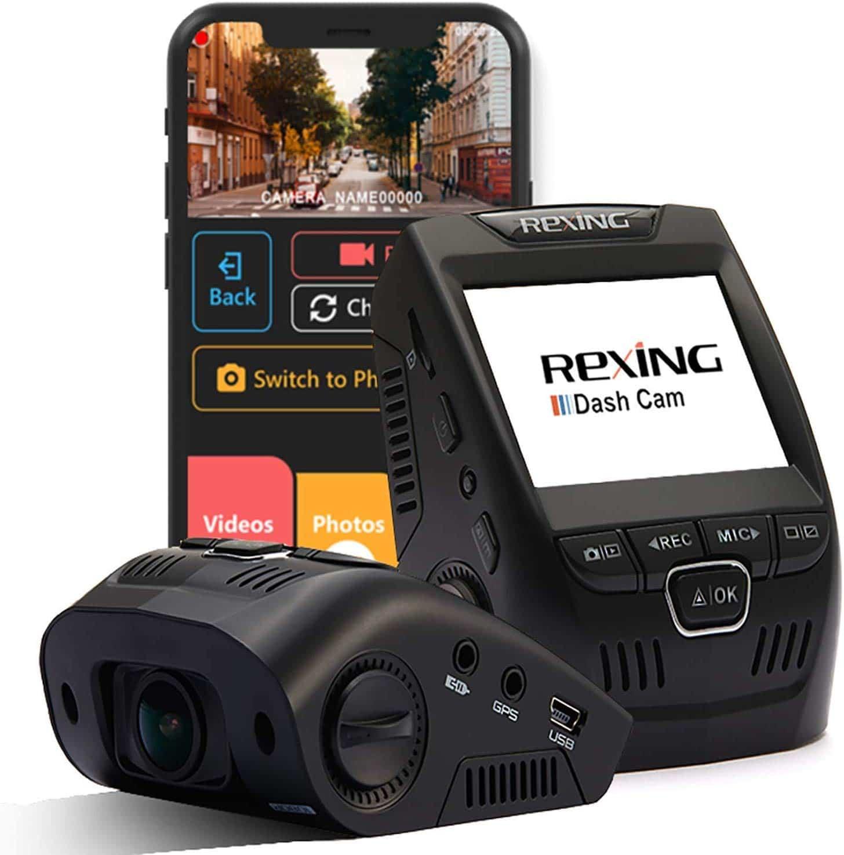 Rexing V1 Wi-Fi Dash Cam