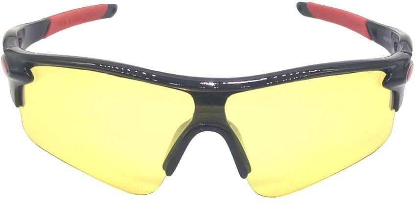 Sekishun-cho Outdoor Sports Athlete's Sunglasses for Cycling Fishing Golf,100% UV Protection