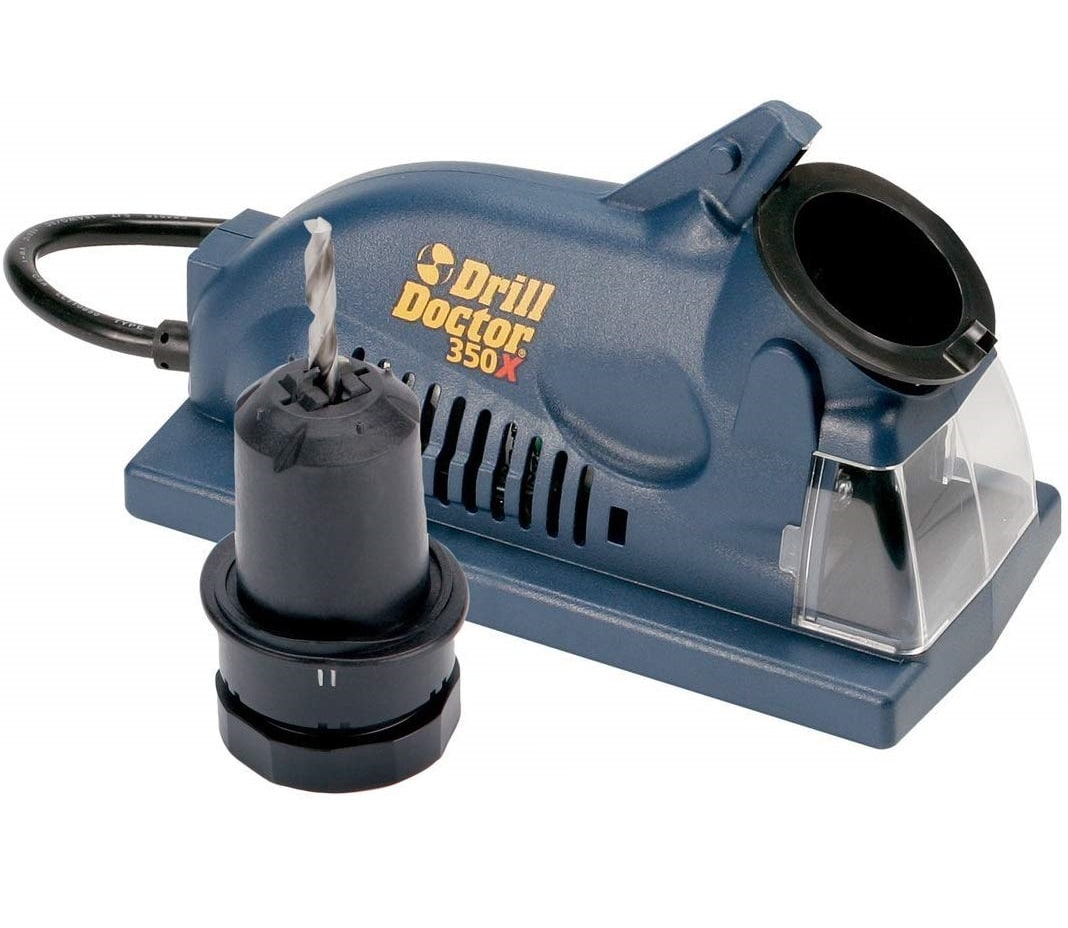 1.Drill Doctor DD350X Drill Bit Sharpener