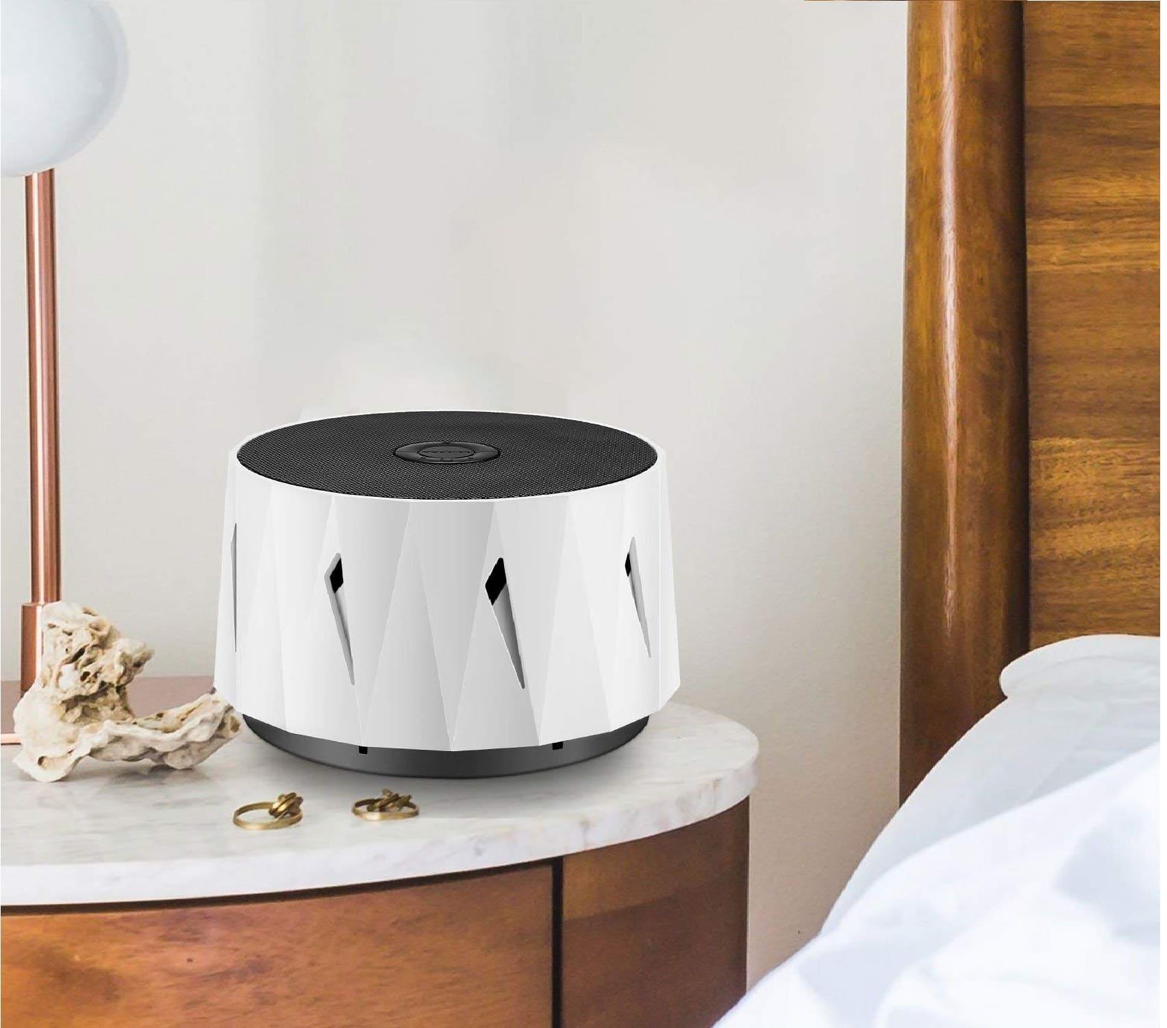 12.WITTI DOZZI White Noise Noise Machine for Baby, Sleeping, Office Privacy. Lightweight Portable for Travel, Hotel Sleep. Natural White Noises maker,