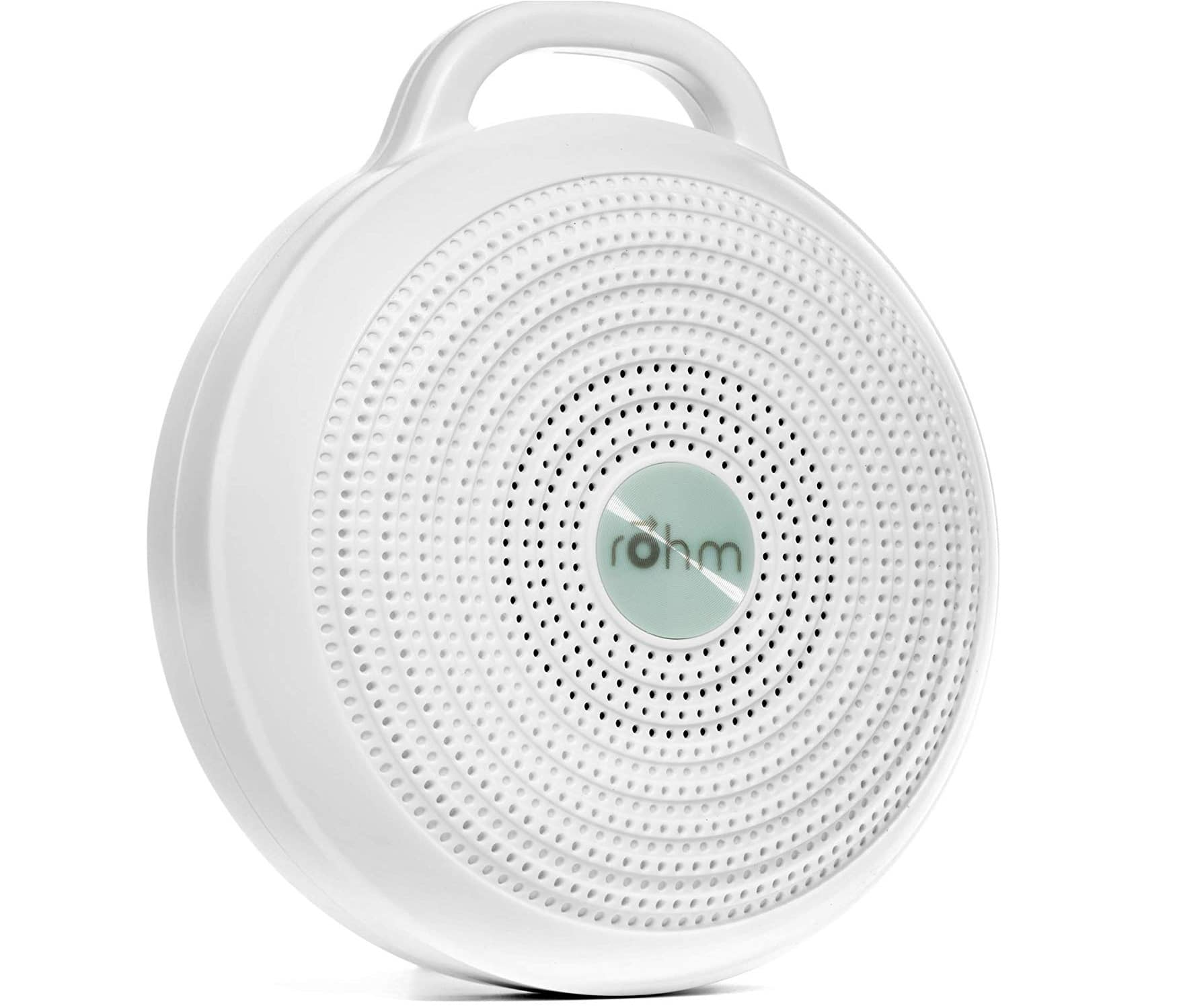 4.Marpac Rohm Portable White Noise Machine for Travel 3 Soothing, Natural Sounds with Volume Control Compact Sleep Therapy for Adults & Baby