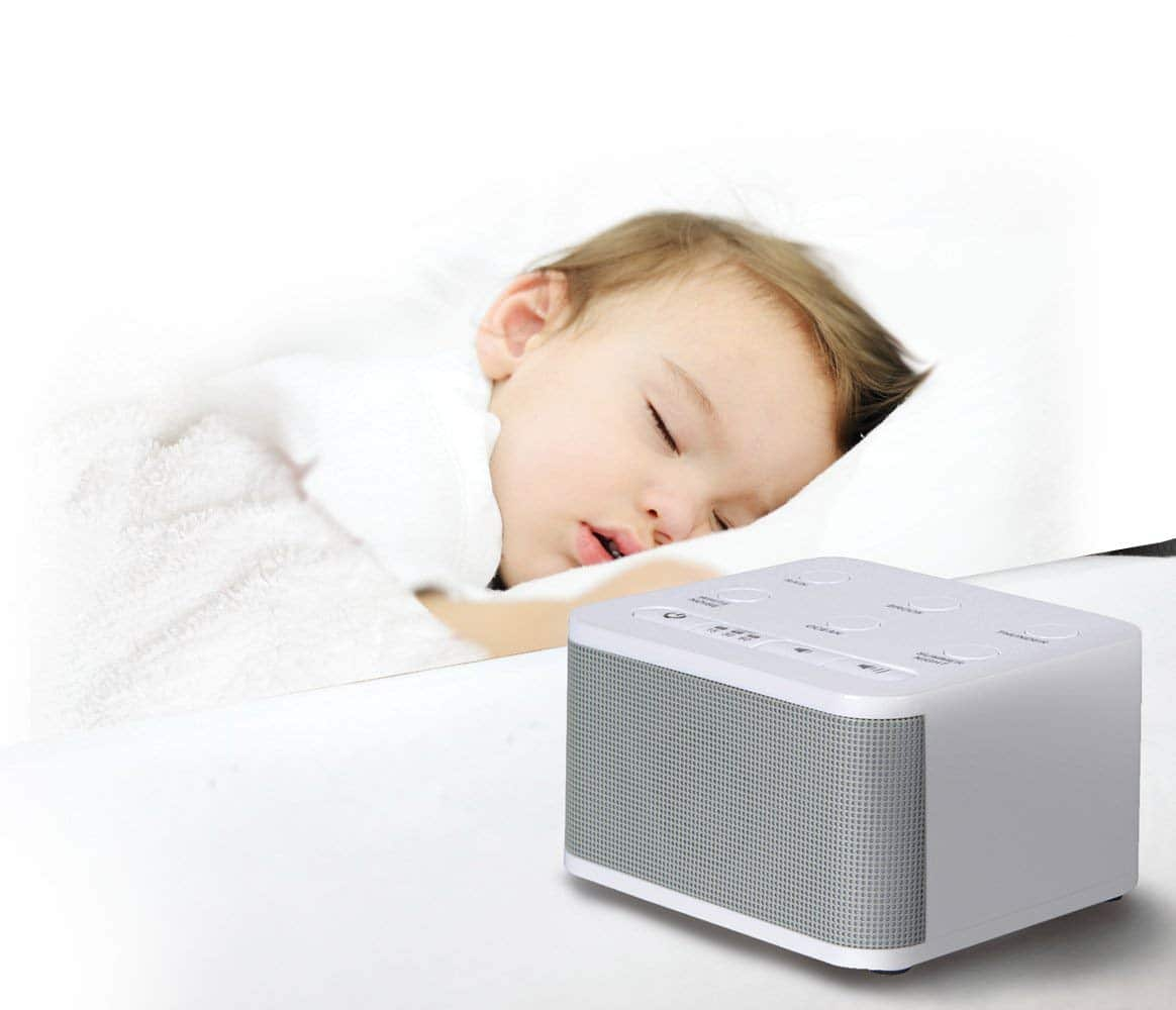 6.Big Red Rooster Baby White Noise Machine 6 Sleep Sounds Sound Machine for Kids, Toddler Or Infant Plug in Or Battery Powered
