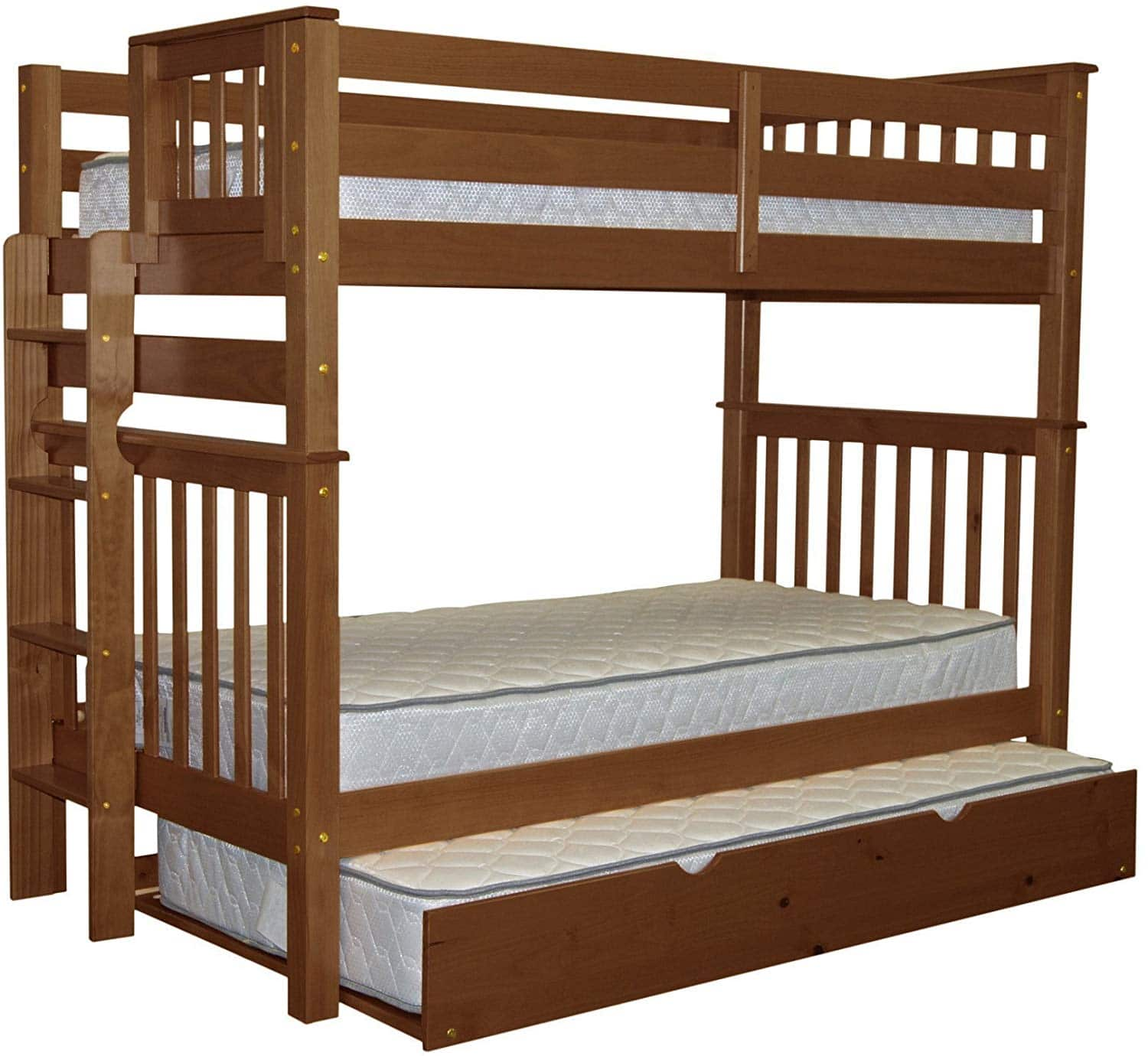 Bedz King Tall Bunk Beds Twin over Twin