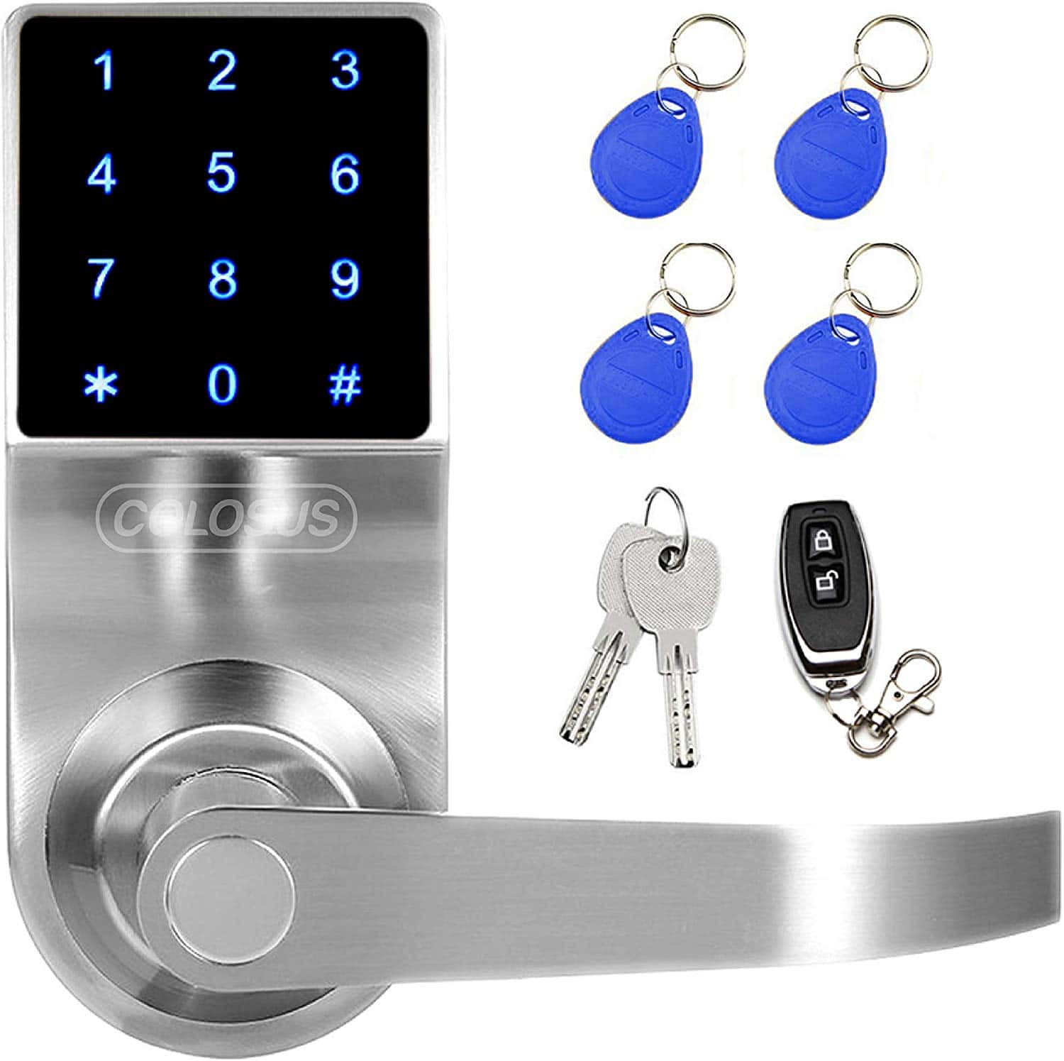 COLOSUS Keyless Electronic Digital Smart Door Lock.