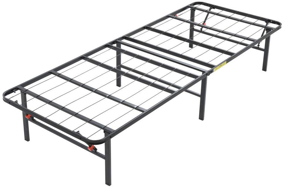 Classic Brands Hercules Heavy-Duty 14-Inch Platform Metal Bed Frame | Mattress Foundation