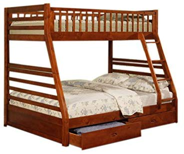 Coaster Twin Full Size Bunk Bed
