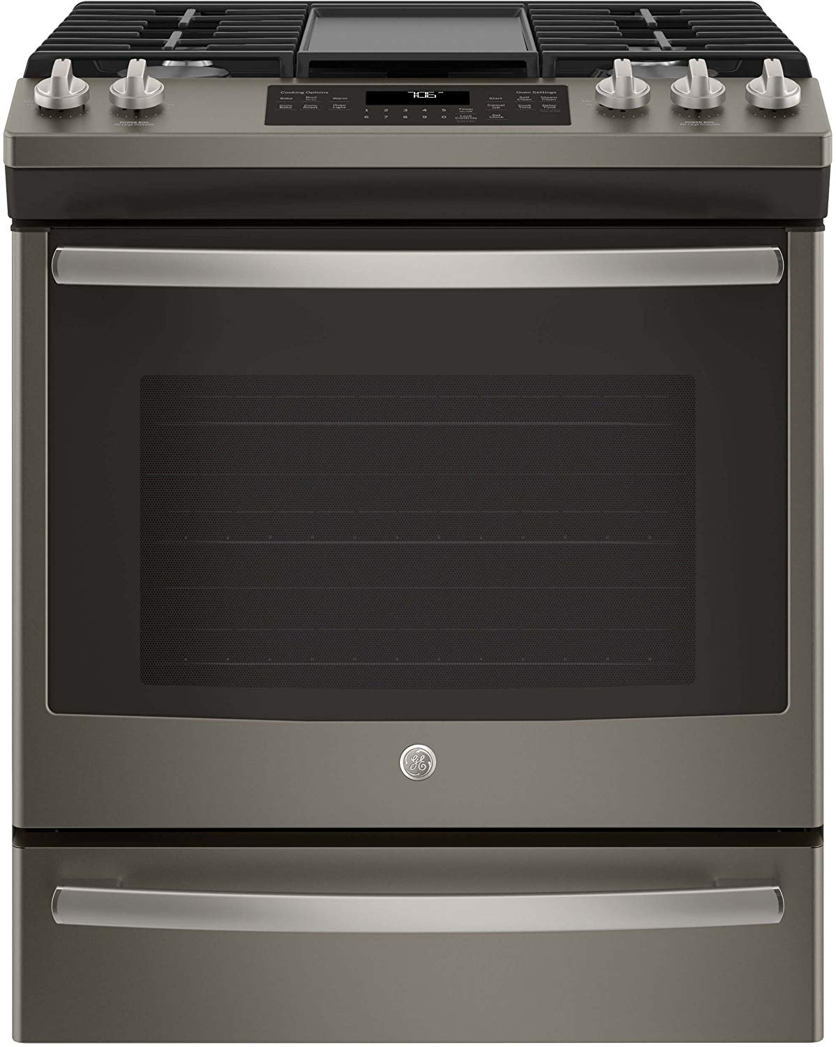 GE JGS760EELES Sealed Burner Cooktop