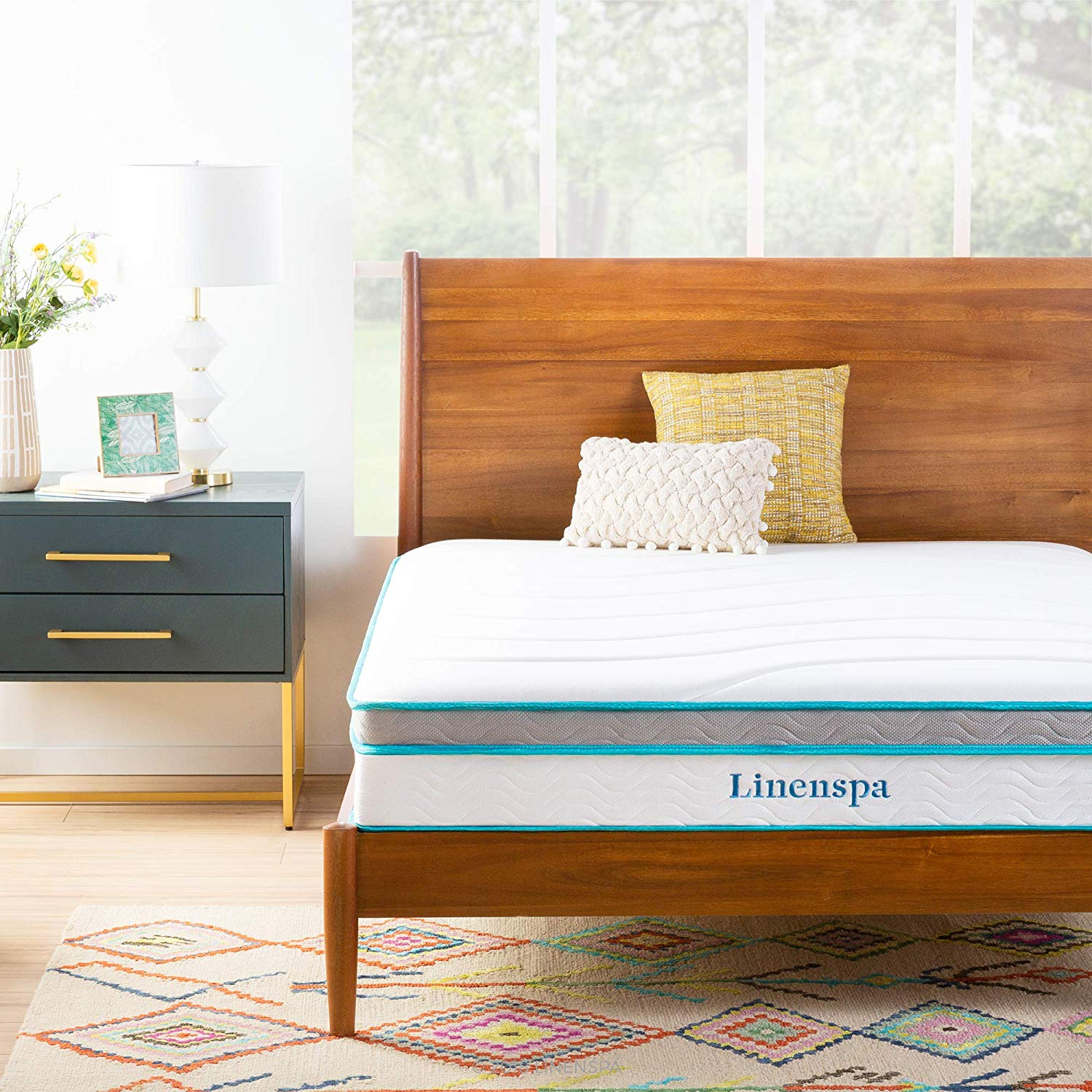 LinenSpa 8´´ Inches Innerspring mattress