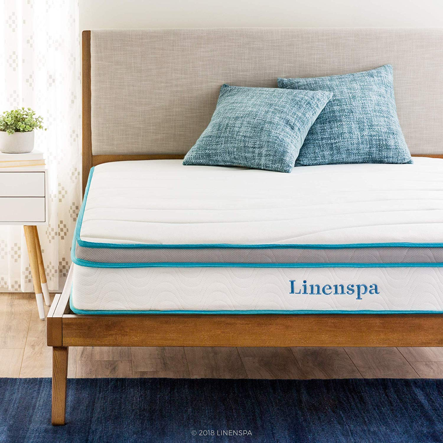 Linenspa 10´´ Inch Innerspring mattress.