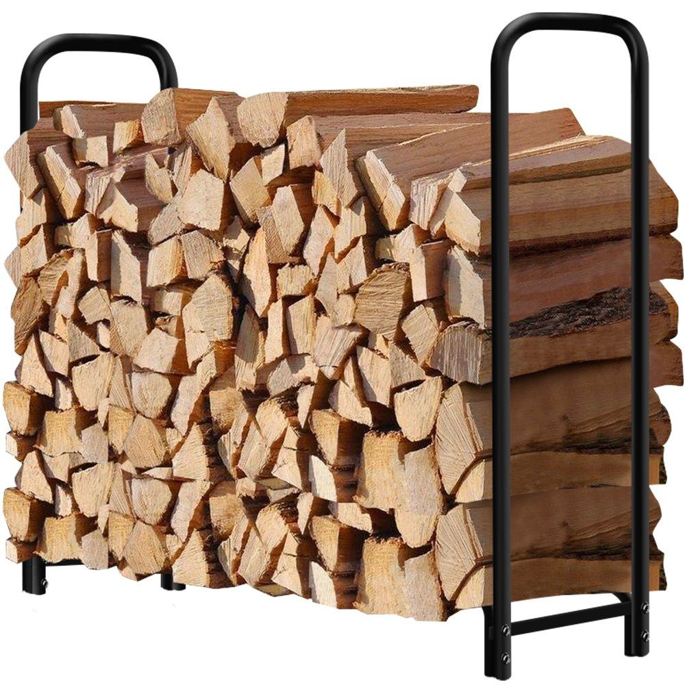 Outdoor Fire Wood Log Rack