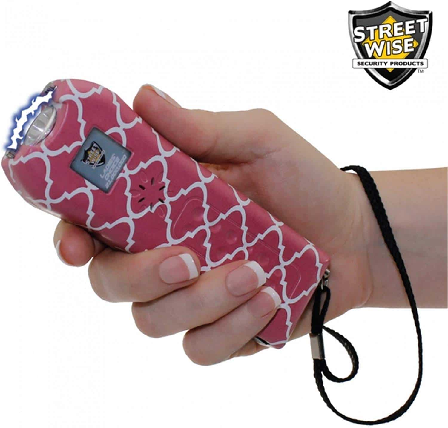 StreetWise Ladies Choice 21 Million Volt Rechargeable Stun Gun with Alarm and Flashlight