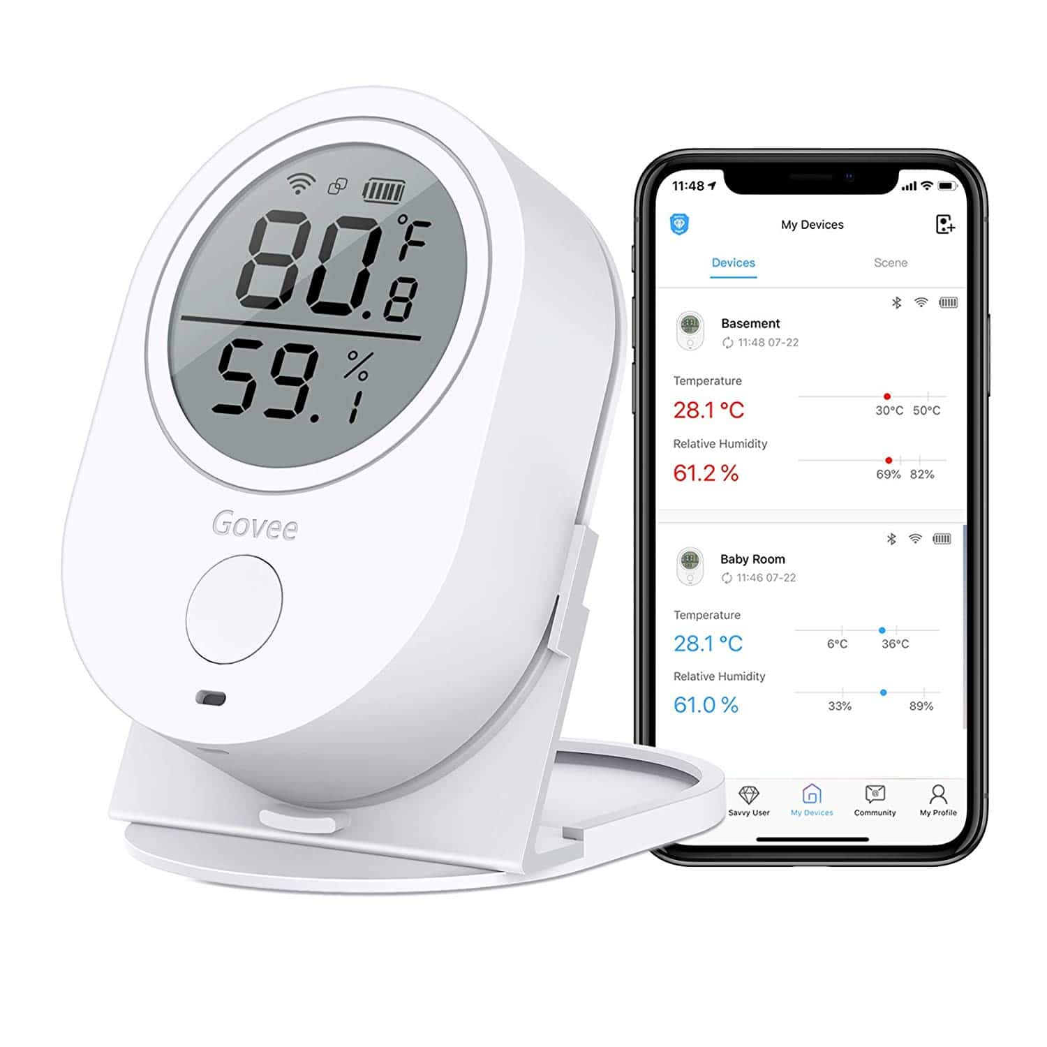 Temperature Humidity Monitor - Govee