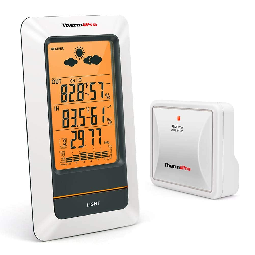 ThermoPro TP67 Rechargeable Weather Station