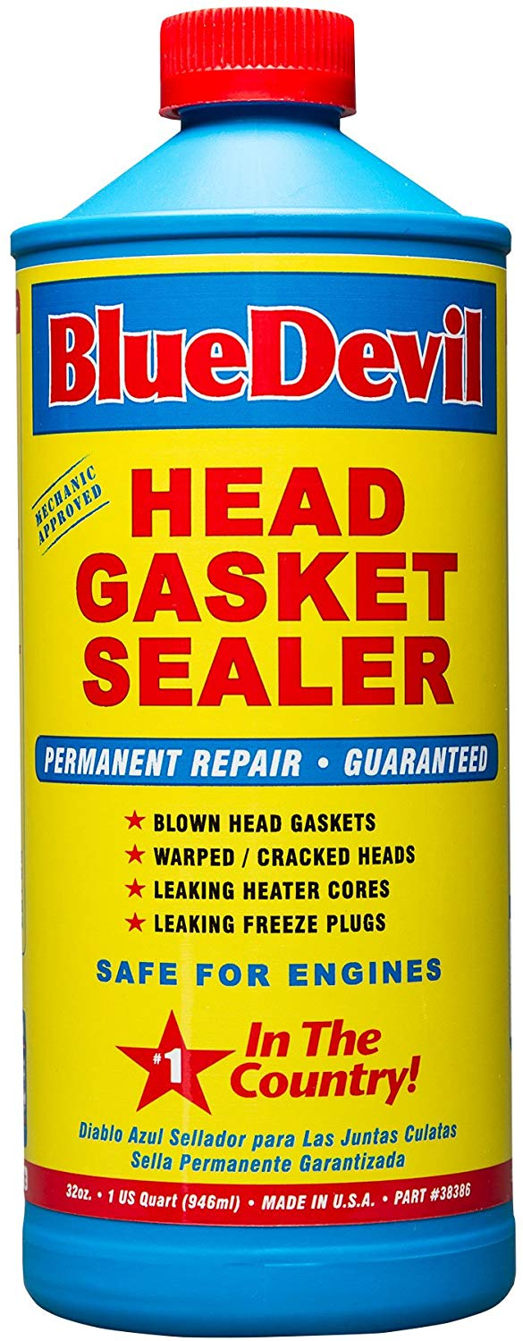 1. BlueDevil Products 32 oz Head Gasket Sealer