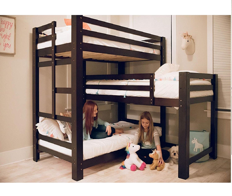 12.Sydney L-Shaped Triple Bunk Bed