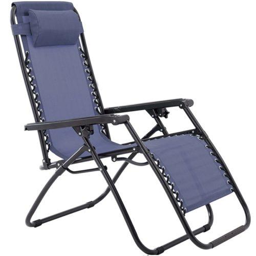 16. Sunjoy Zero Gravity Folding Lounge Chairs