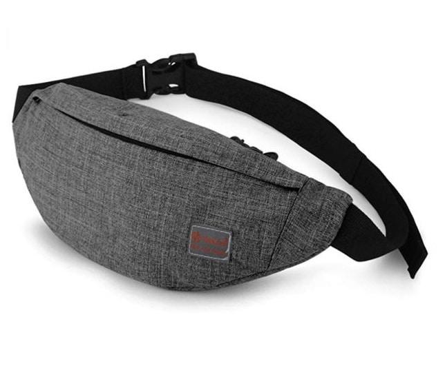 2.Tinyat Travel Fanny Bag Waist Pack Sling Pocket Super Lightweight For Travel Cashier's box, Tool Kit T201