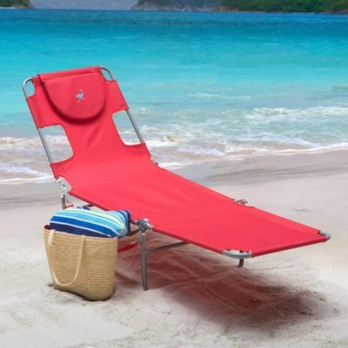 20. Ostrich Chaise Folding Lounge Chair - Best for Beach Loung Chair