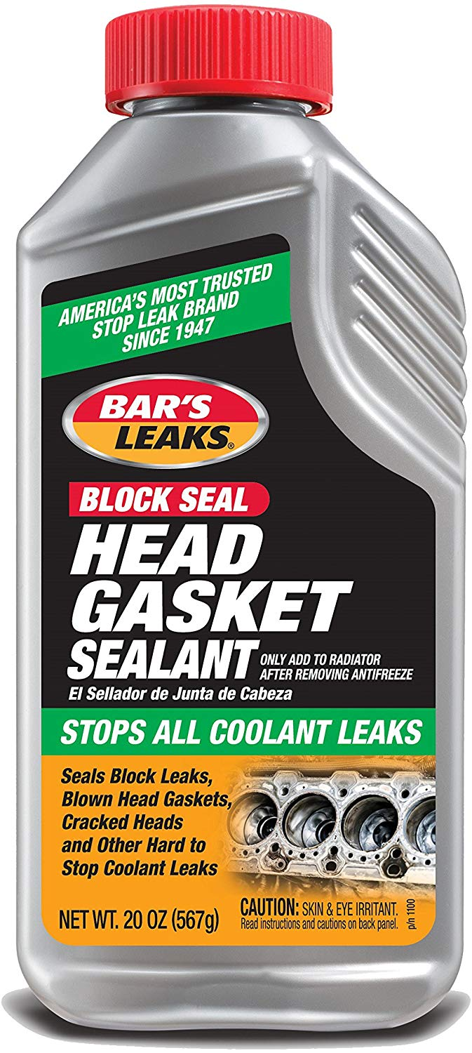3. Bar's Leaks 20 oz Head Gasket Sealer