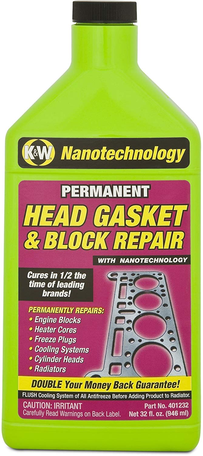 7. K&W 32 oz Head Gasket Sealer
