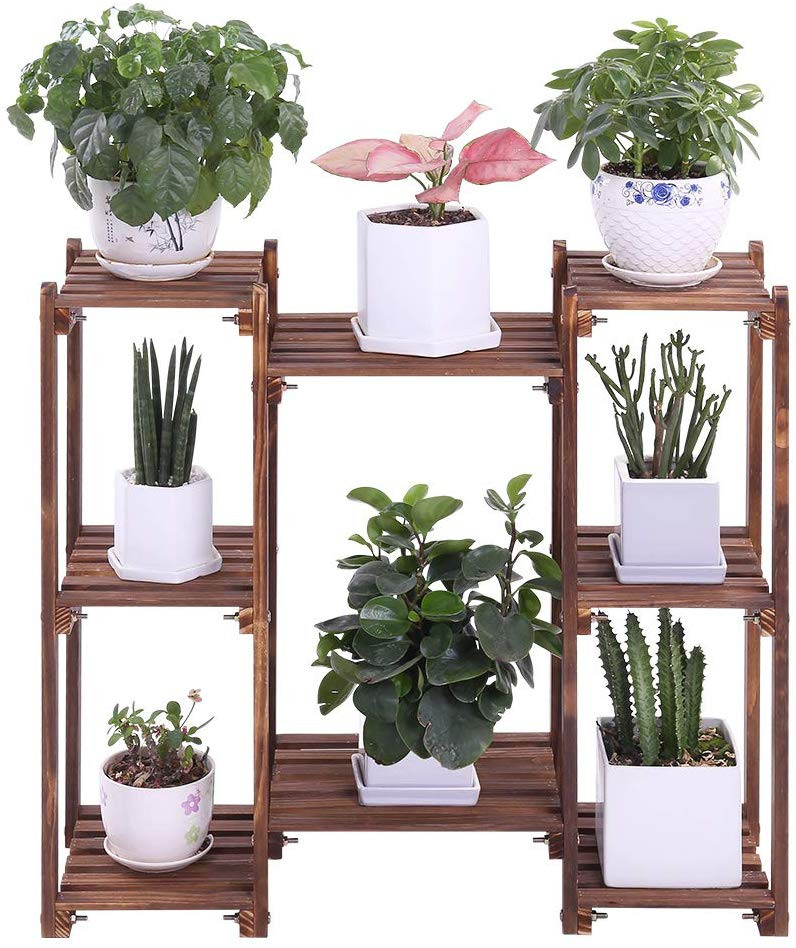 8-Tiered Flower Pot Stand by COOGOU