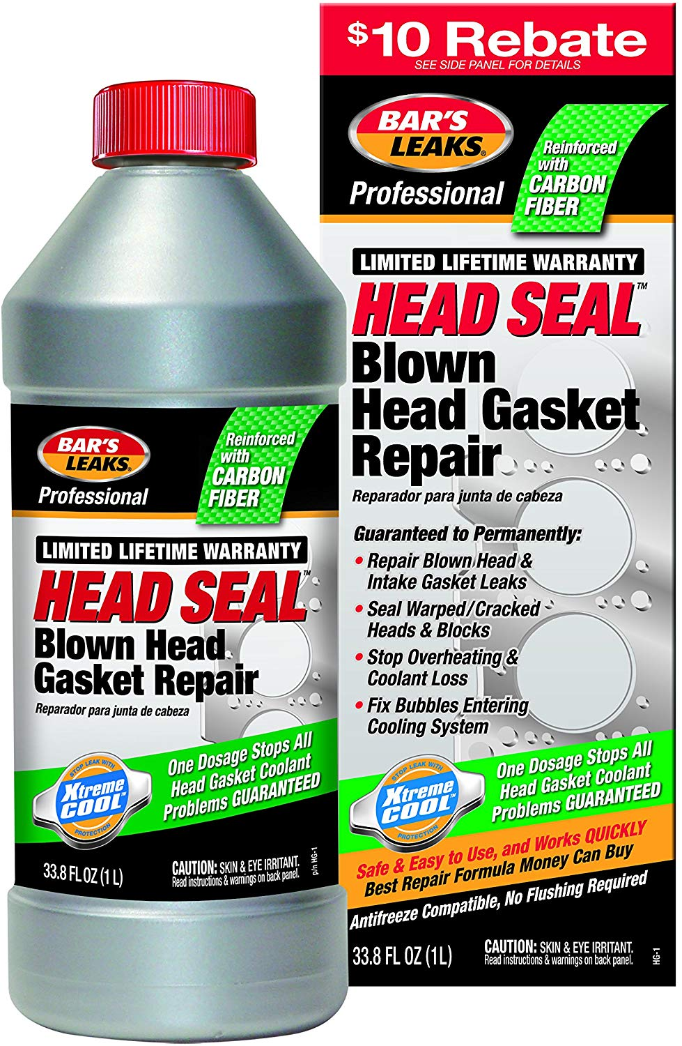 9. Bar's Leaks Head Gasket Sealer
