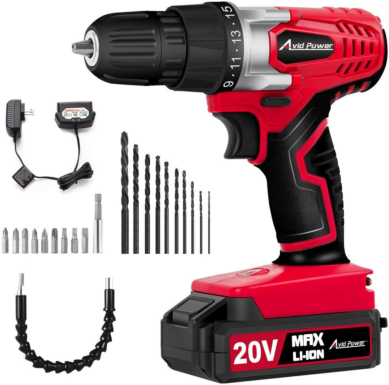 Avid Power 20V cordless drill