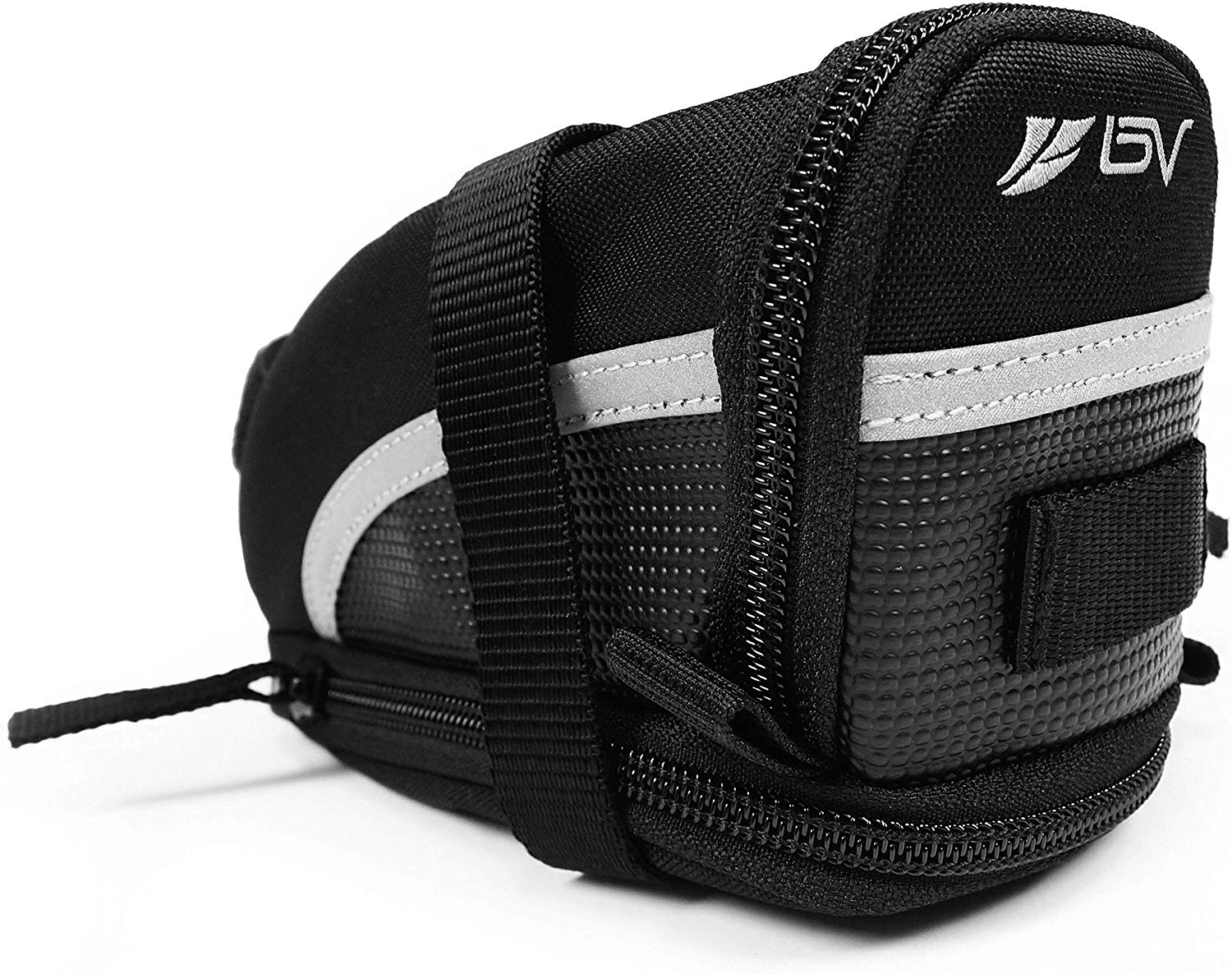 BV Bicycle Strap-On Bike Saddle Bag