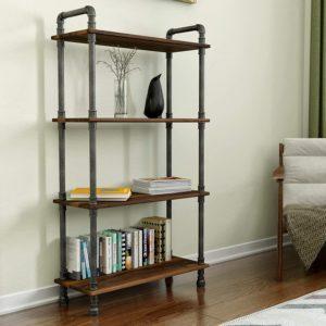 Barnyard Designs Pine Wood Bookshelves for Home & Office