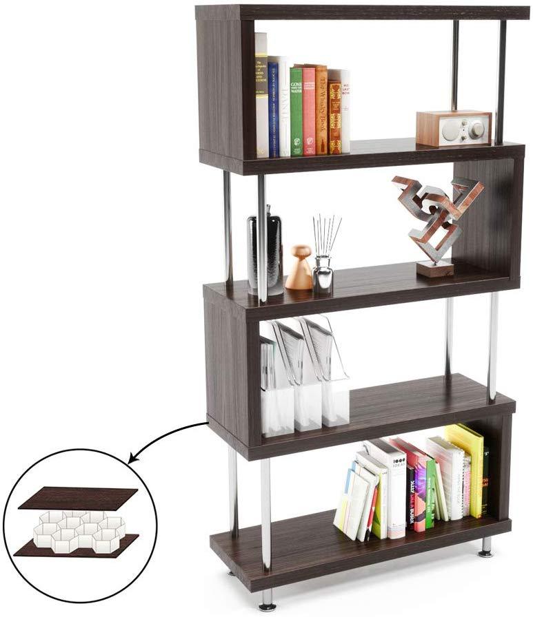 Bestier 5 Shelf Bookcase