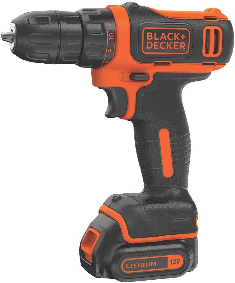 Black+Decker 12V Max Cordless Drill