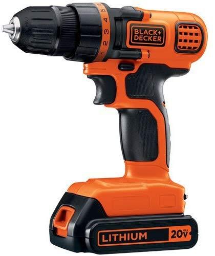 Black+Decker LDX120C cordless drill