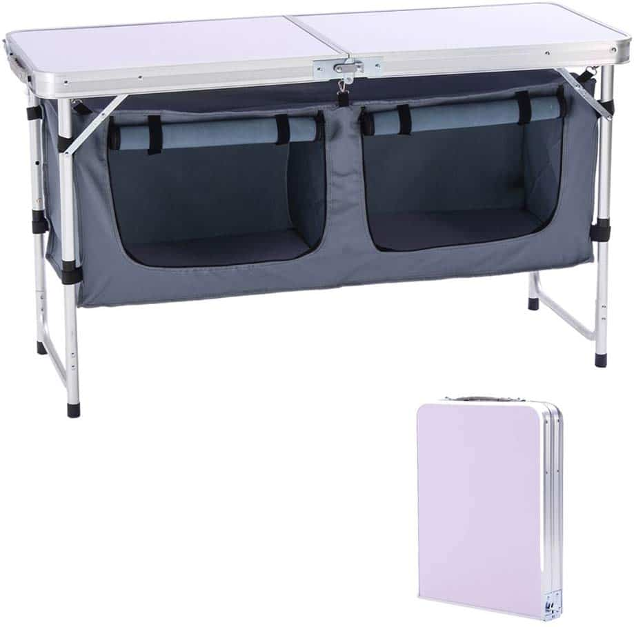 Camp Land Outdoor Folding Table