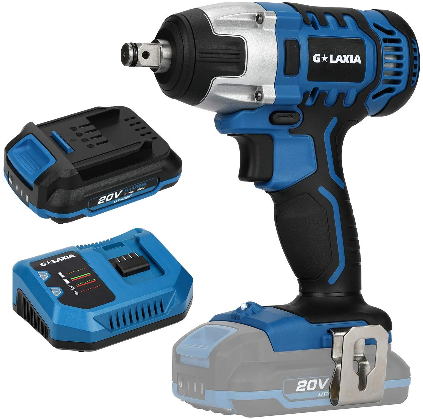 Cordless Impact Wrench, GALAXIA