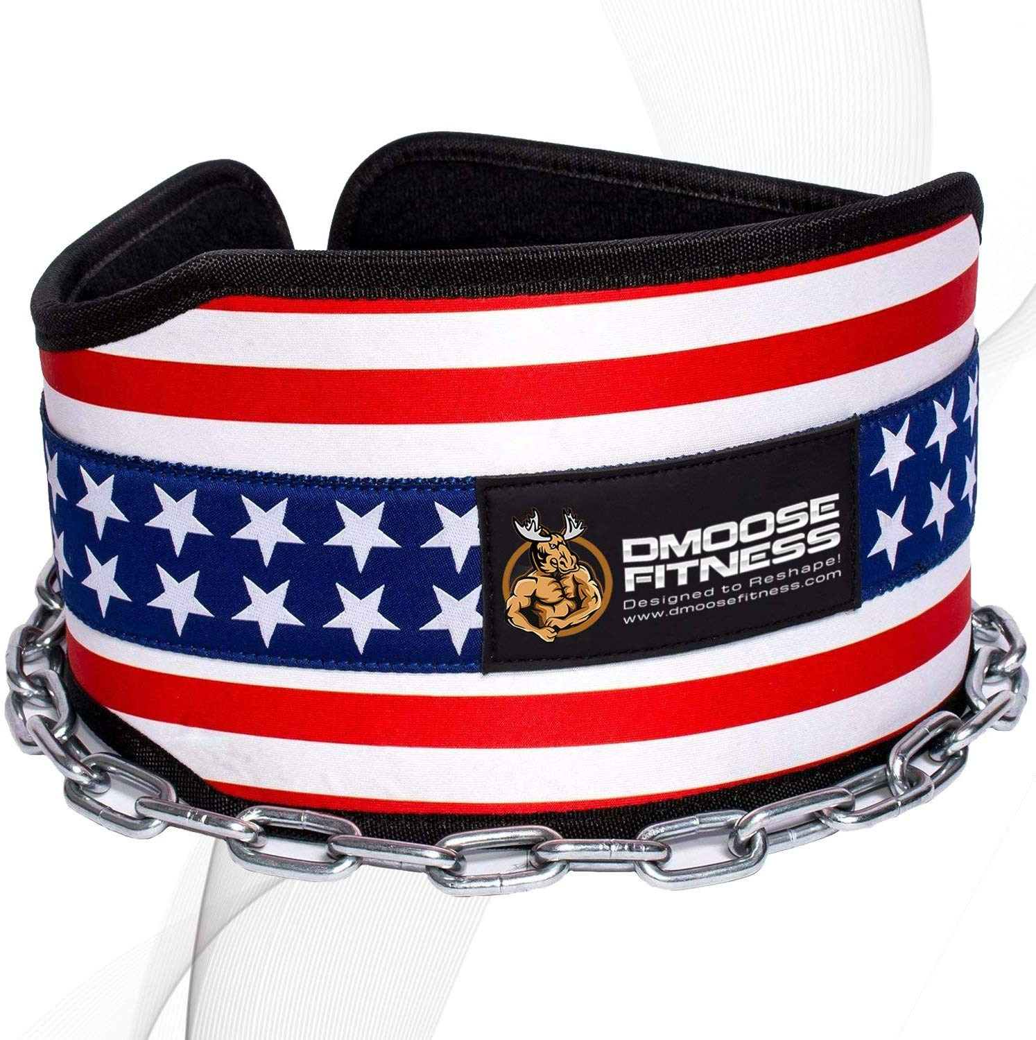 DMoose Fitness Neoprene Dip Weightlifting Belt