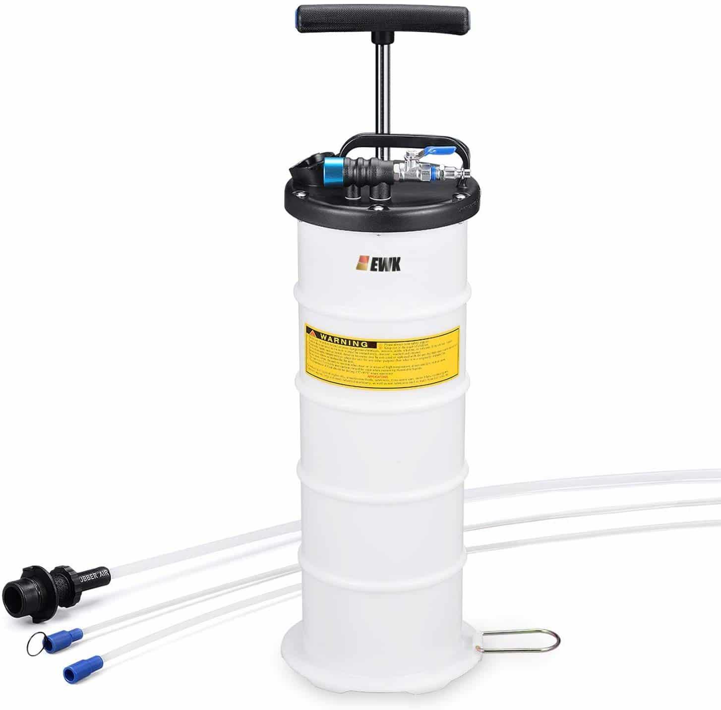 EWK vacuum fluid evacuator