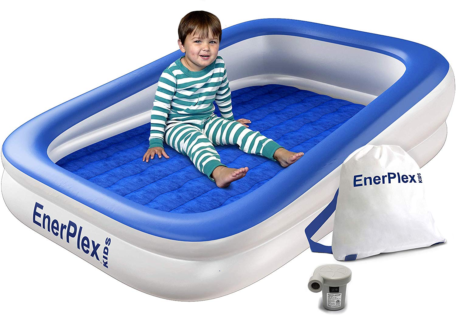 EnerPlex Kids Inflatable Air Mattress Bed