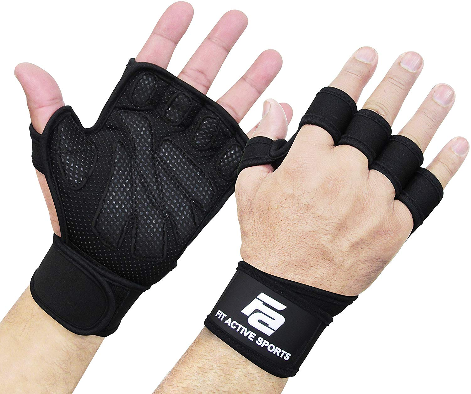 Fit active weightlifting gloves