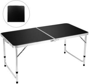 FiveJoy Adjustable Portable Camping Table