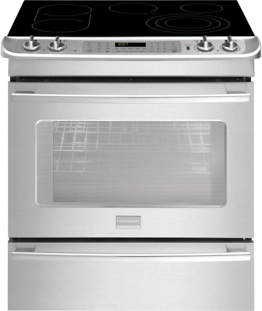 Frigidaire Professional smooth top range