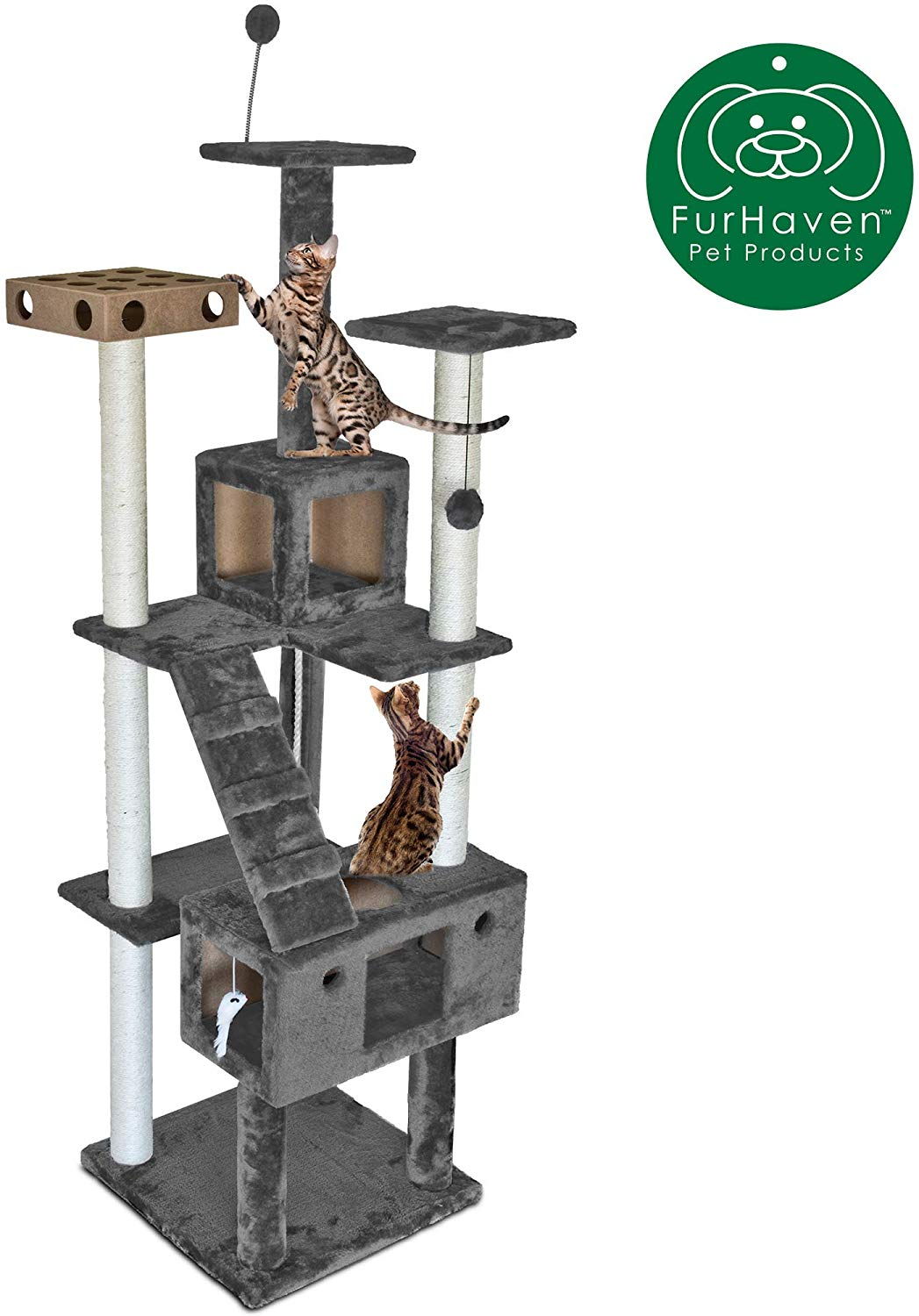 Furhaven Cat Tree House Condo