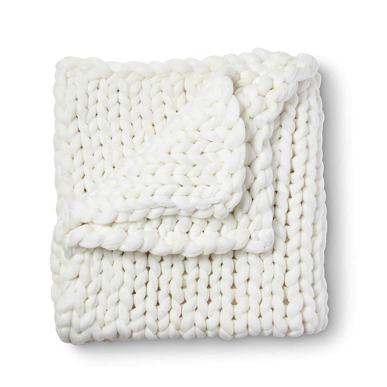 Giant Chunky Knit Blanket