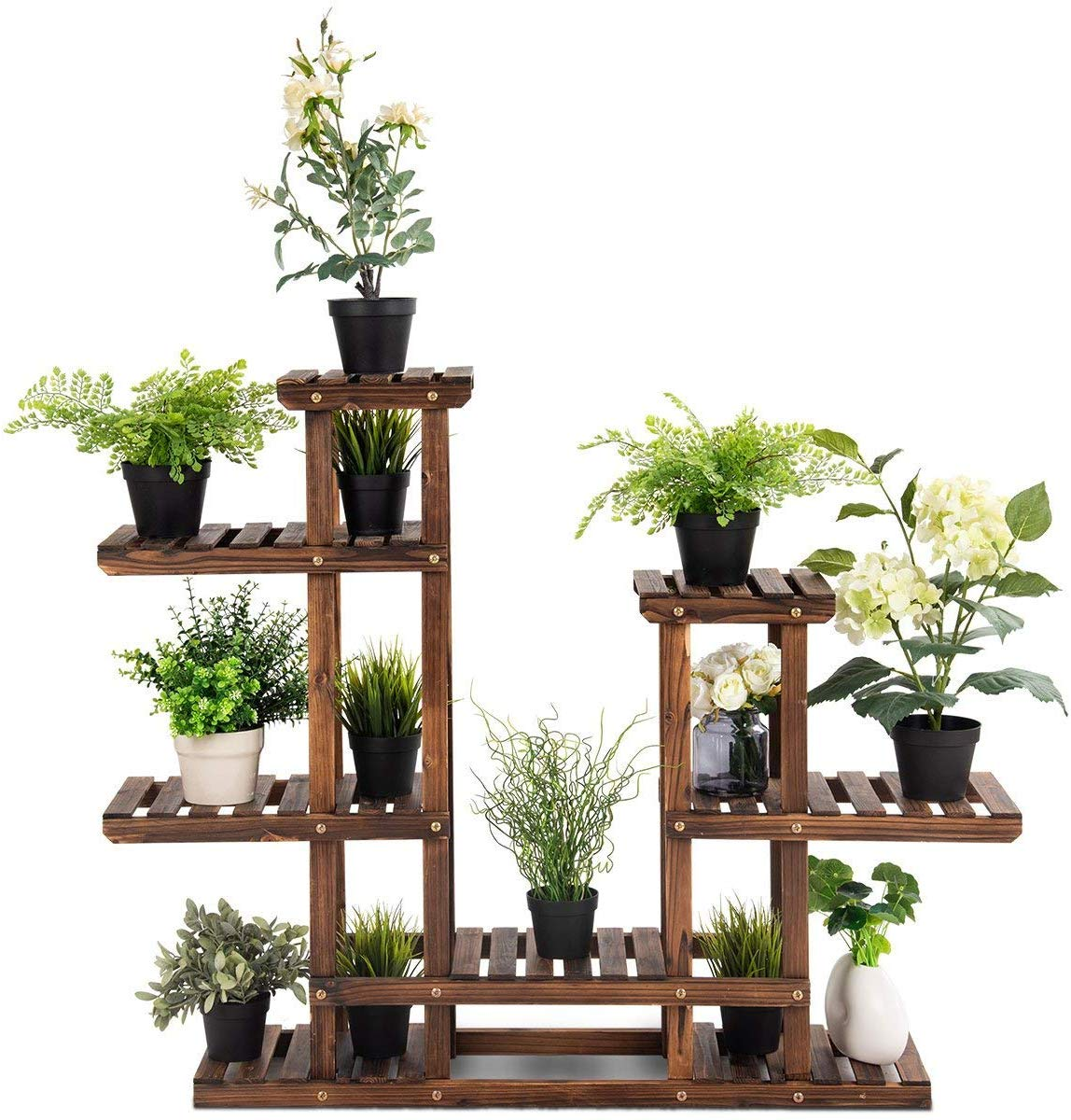 Giantex Wood Plant Stand