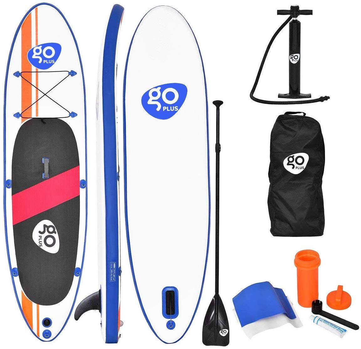 Goplus 10ft Inflatable Stand Up Paddle