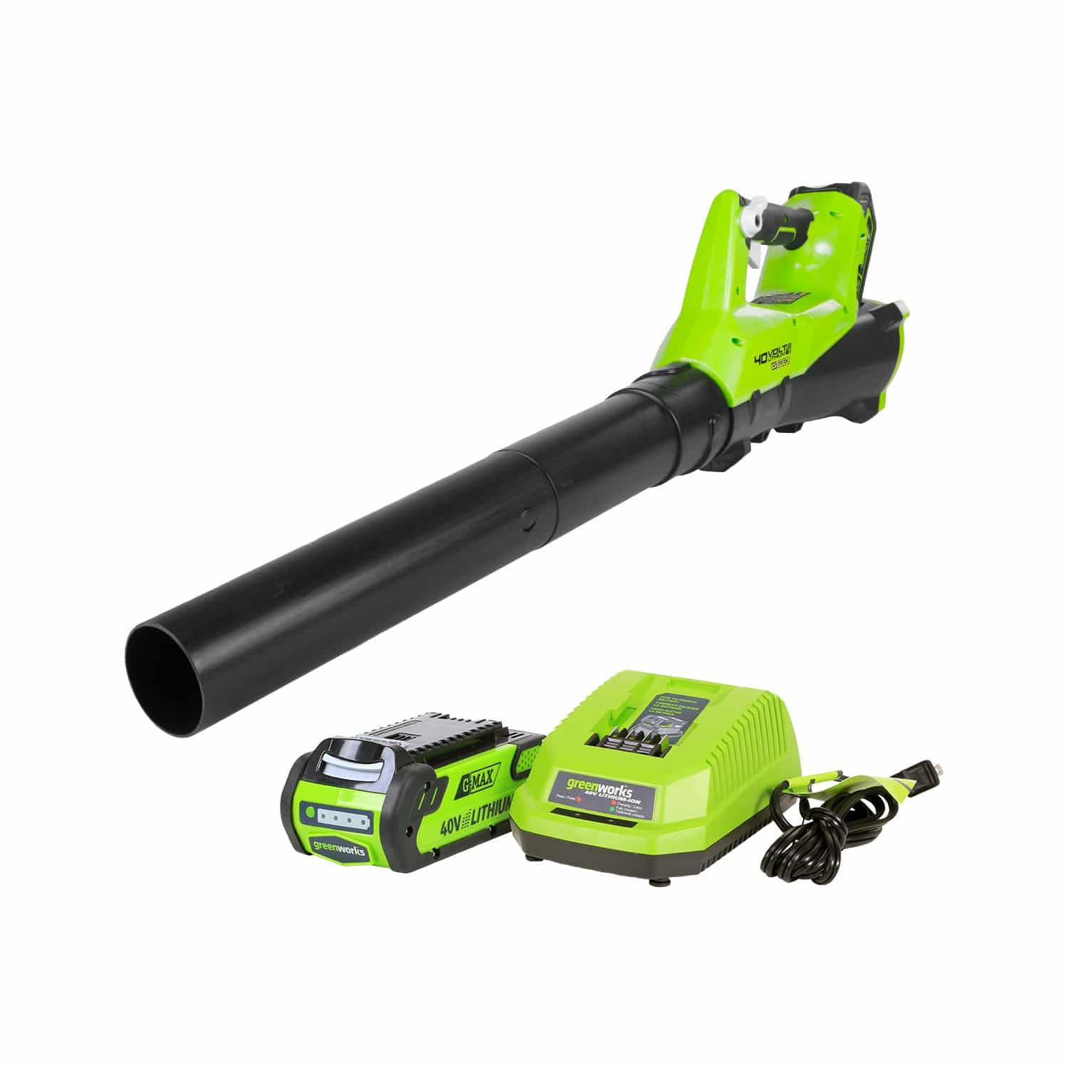 Green works 40V Electric Leaf Blower