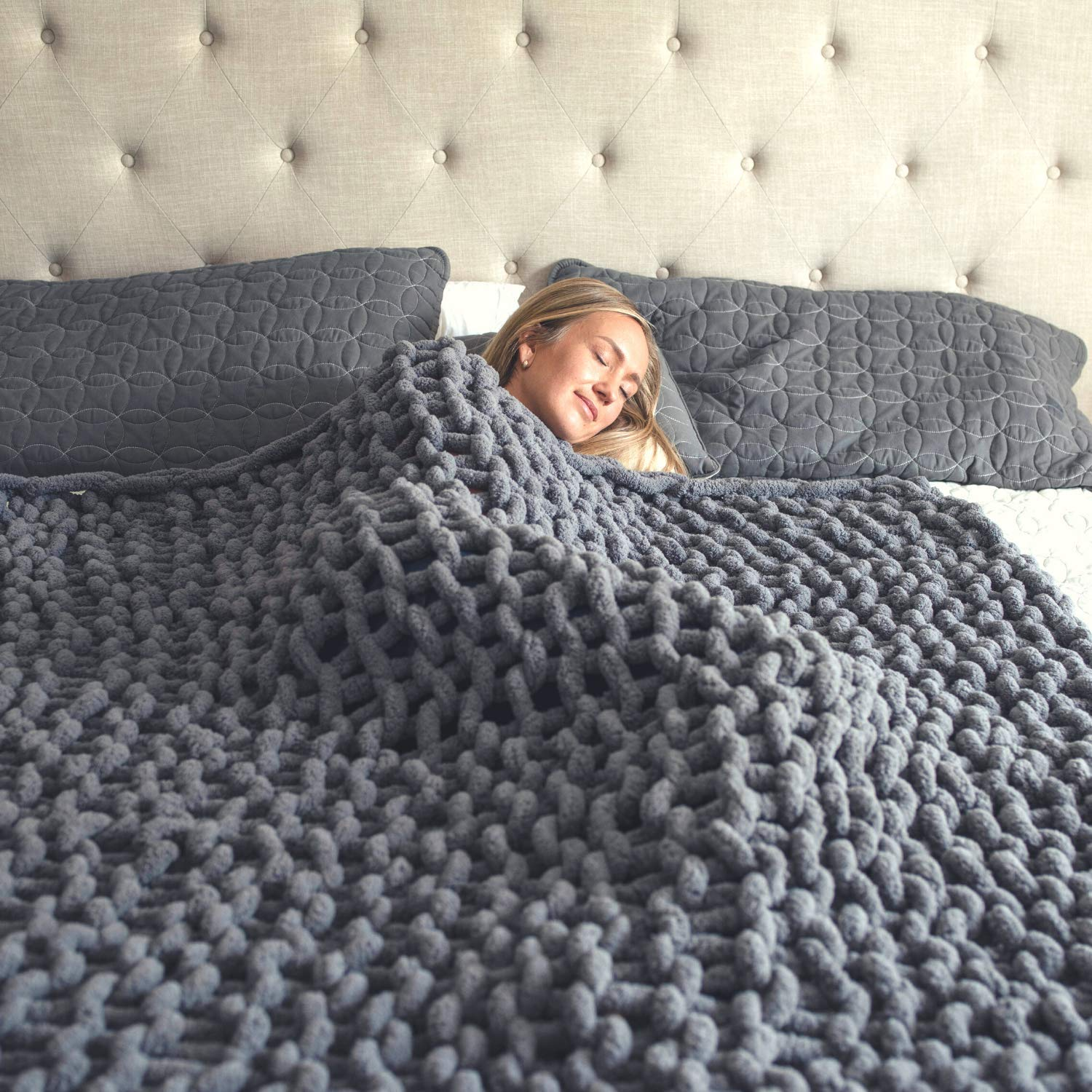 Hearth & Crate Chunky Knit Blanket