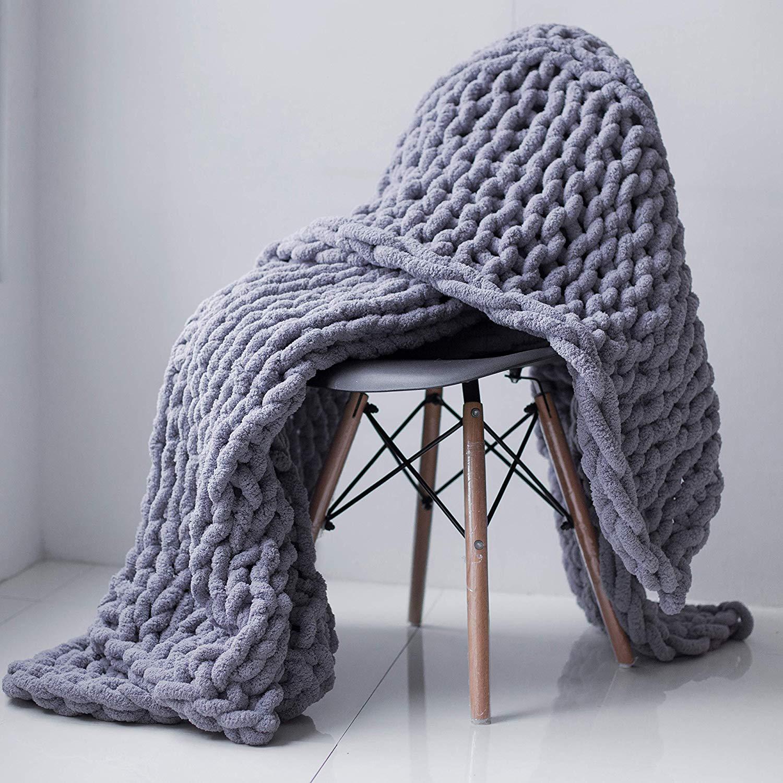 KRASKA Chunky Knit Blanket