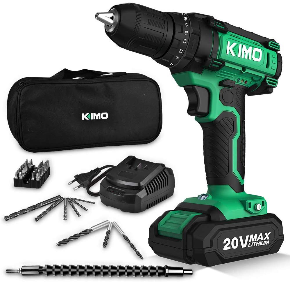 Kimo cordless drill kit