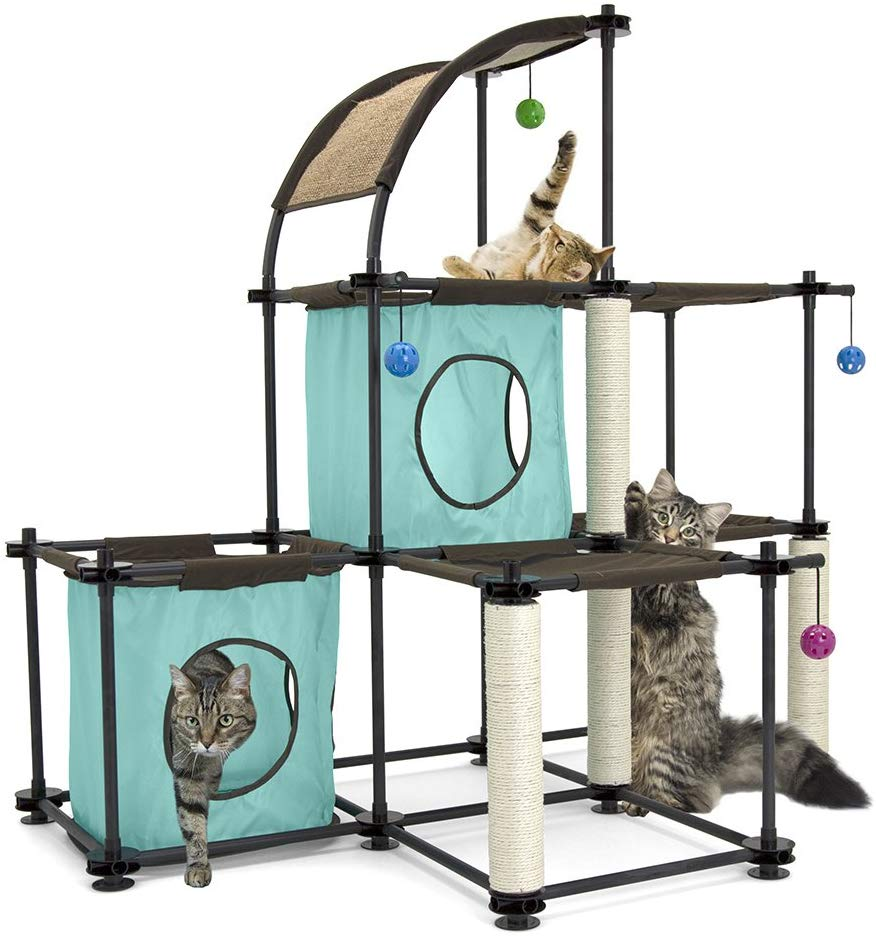 Kitty City Cat Condo Tree House